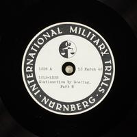 Day 82 International Military Tribunal, Nuremberg (Set A)  Click to enlarge