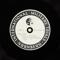 Day 84 International Military Tribunal, Nuremberg (Set A)  Click to enlarge