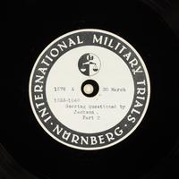 Day 86 International Military Tribunal, Nuremberg (Set A)  Click to enlarge