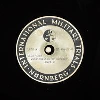 Day 91 International Military Tribunal, Nuremberg (Set A)  Click to enlarge
