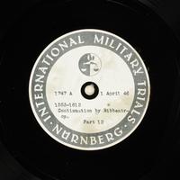 Day 96 International Military Tribunal, Nuremberg (Set A)  Click to enlarge