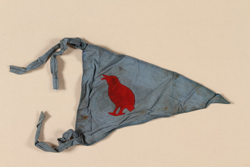 1993.107.3 front Boy Scout banner used in the Jewish Community in Shanghai