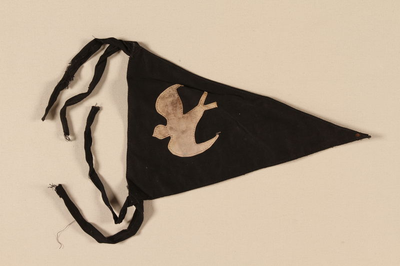 1993.107.4 front Boy Scout banner used in the Jewish Community in Shanghai