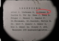 Pető prepares a film of the Jewish Labor Company 252/2 in Hungary in fall 1940  Click to enlarge