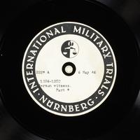 Day 122 International Military Tribunal, Nuremberg (Set A)  Click to enlarge
