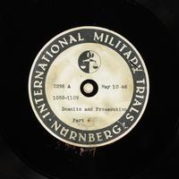 Day 126 International Military Tribunal, Nuremberg (Set A)  Click to enlarge