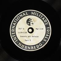 Day 127 International Military Tribunal, Nuremberg (Set A)  Click to enlarge
