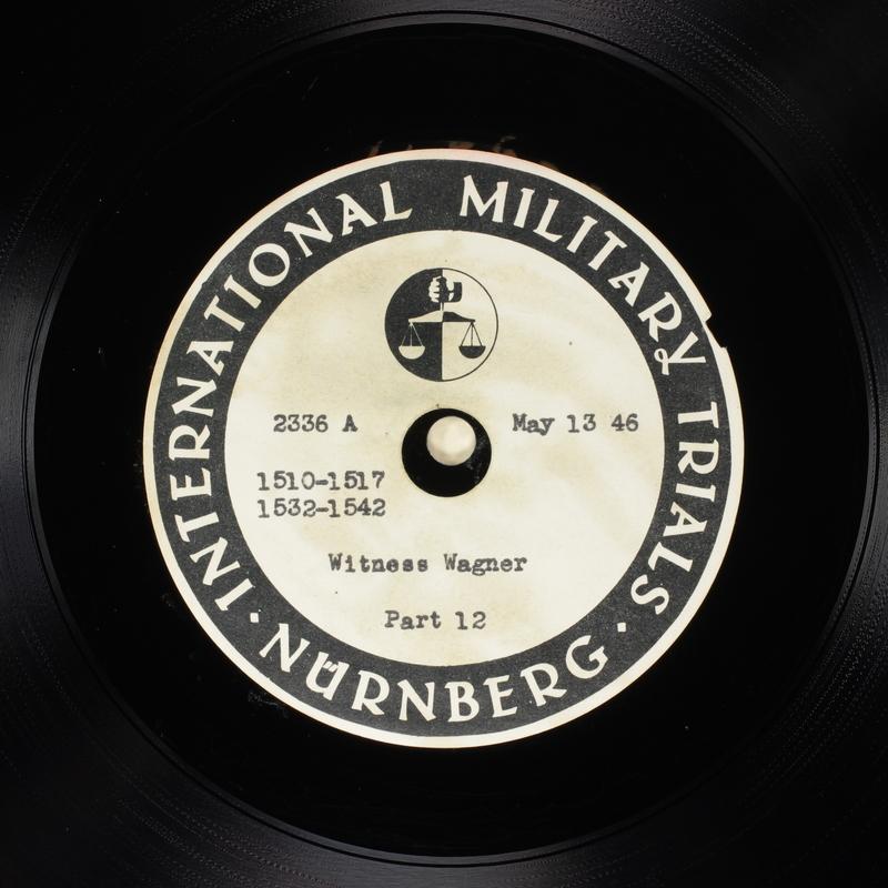 Day 128 International Military Tribunal, Nuremberg (Set A)