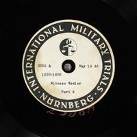 Day 129 International Military Tribunal, Nuremberg (Set A)  Click to enlarge