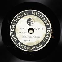 Day 132 International Military Tribunal, Nuremberg (Set A)  Click to enlarge
