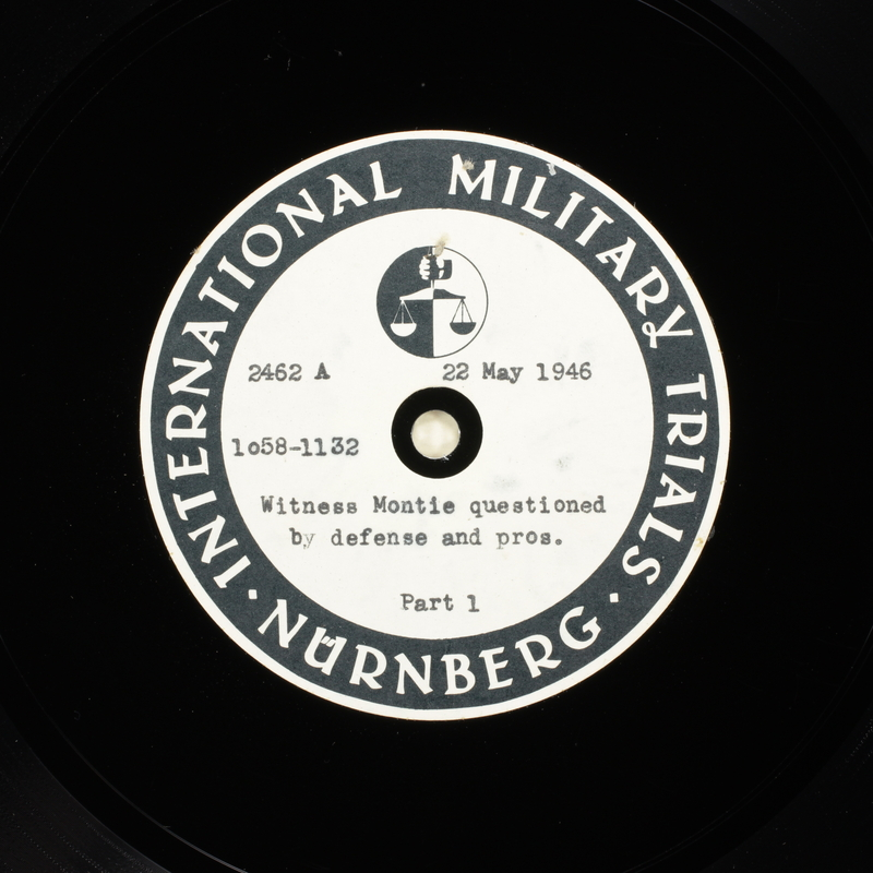 Day 136 International Military Tribunal, Nuremberg (Set A)