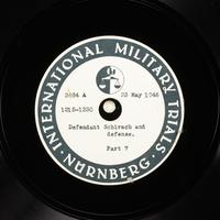 Day 137 International Military Tribunal, Nuremberg (Set A)  Click to enlarge