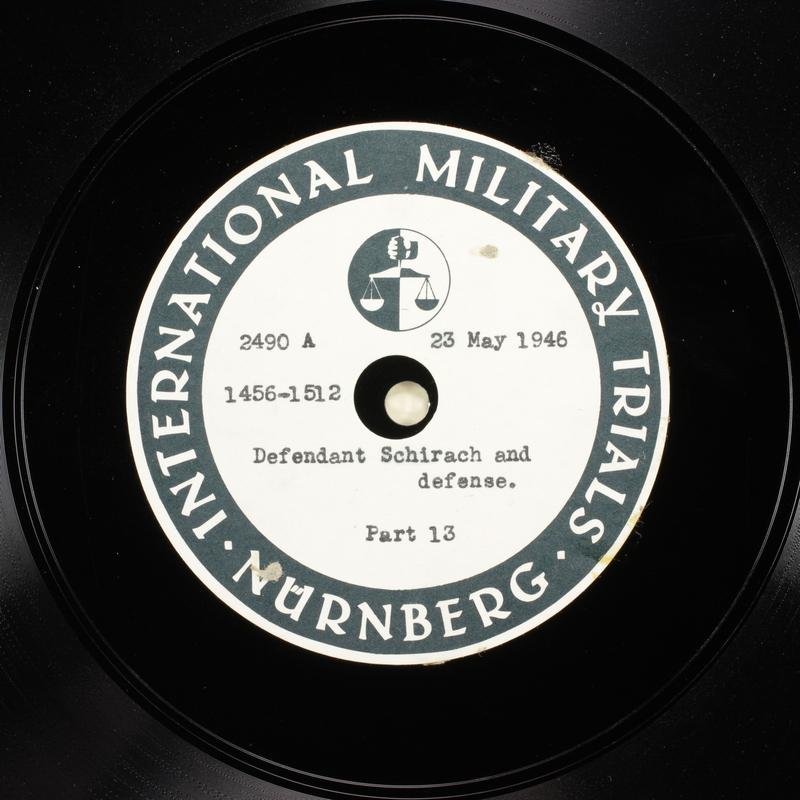 Day 137 International Military Tribunal, Nuremberg (Set A)
