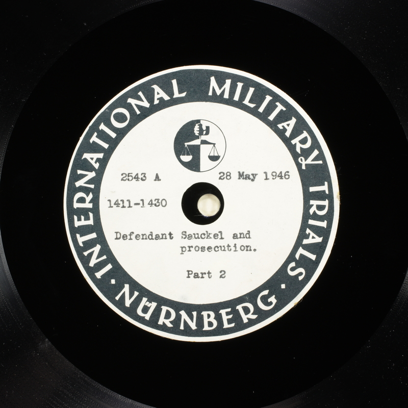 Day 140 International Military Tribunal, Nuremberg (Set A)