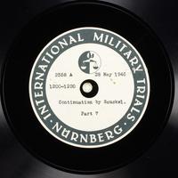Day 141 International Military Tribunal, Nuremberg (Set A)  Click to enlarge
