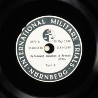 Day 142 International Military Tribunal, Nuremberg (Set A)  Click to enlarge