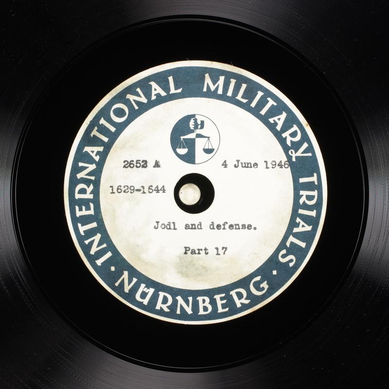 Day 146 International Military Tribunal, Nuremberg (Set A)