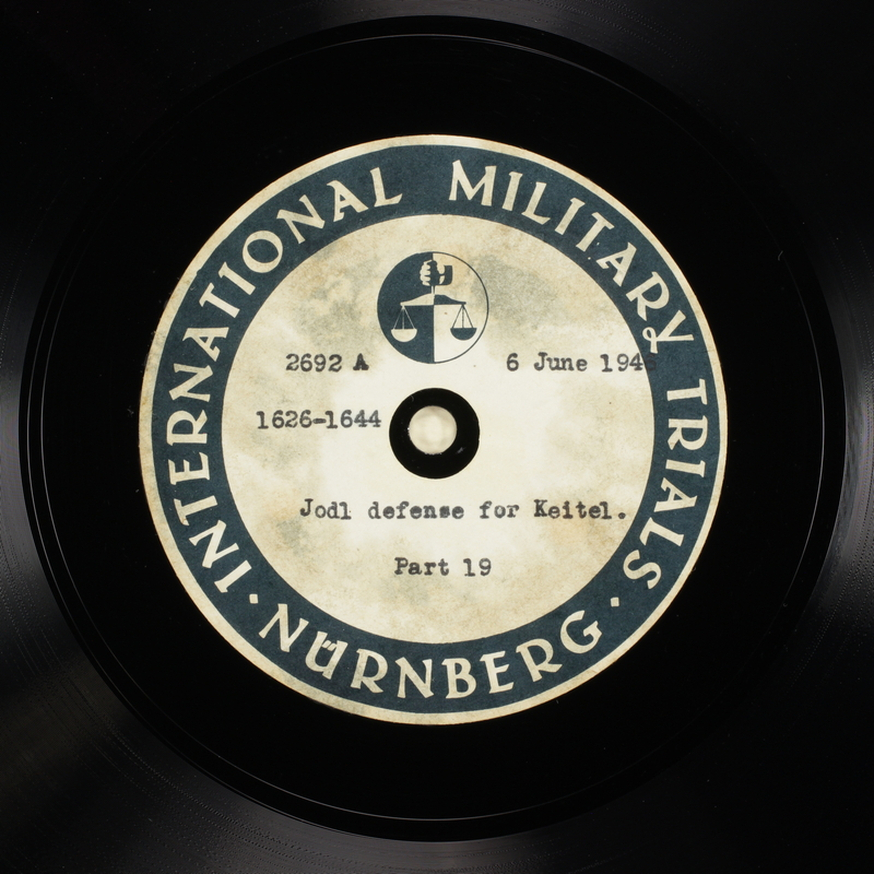 Day 148 International Military Tribunal, Nuremberg (Set A)