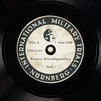 Day 149 International Military Tribunal, Nuremberg (Set A)  Click to enlarge