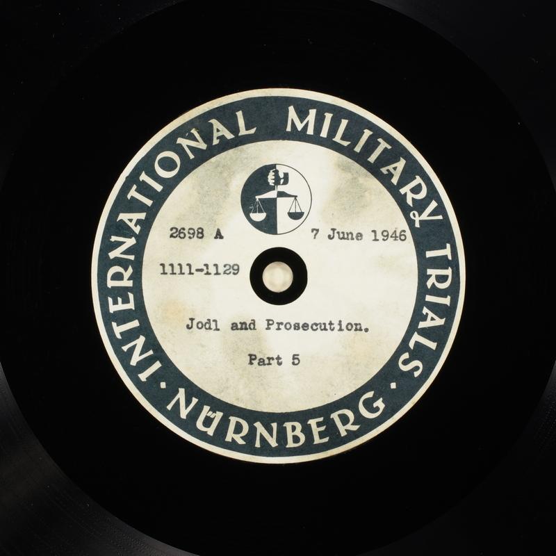 Day 149 International Military Tribunal, Nuremberg (Set A)