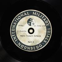 Day 151 International Military Tribunal, Nuremberg (Set A)  Click to enlarge