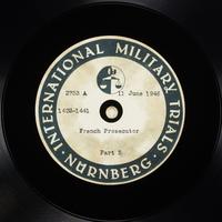 Day 152 International Military Tribunal, Nuremberg (Set A)  Click to enlarge