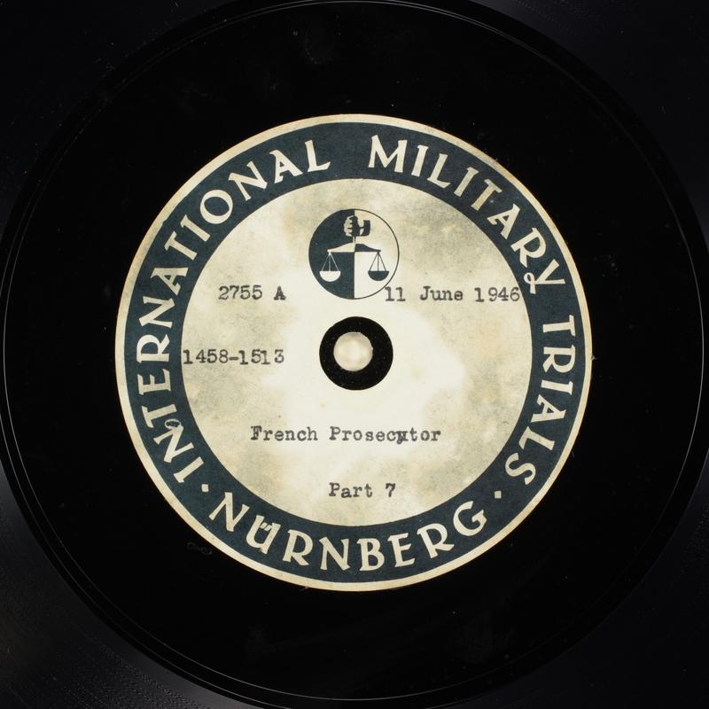 Day 152 International Military Tribunal, Nuremberg (Set A)
