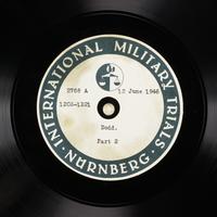 Day 153 International Military Tribunal, Nuremberg (Set A)  Click to enlarge