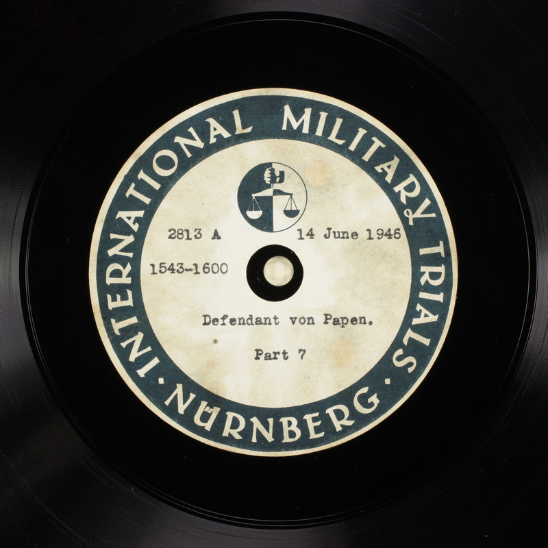 Day 155 International Military Tribunal, Nuremberg (Set A)