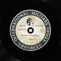 Day 155 International Military Tribunal, Nuremberg (Set A)  Click to enlarge