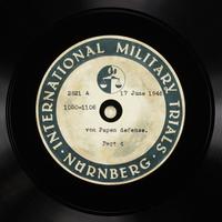 Day 156 International Military Tribunal, Nuremberg (Set A)  Click to enlarge