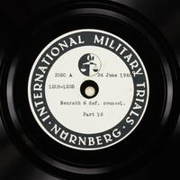 Day 162 International Military Tribunal, Nuremberg (Set A)  Click to enlarge