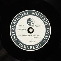 Day 163 International Military Tribunal, Nuremberg (Set A)  Click to enlarge