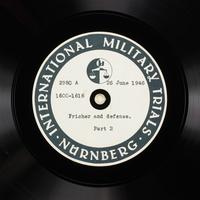 Day 164 International Military Tribunal, Nuremberg (Set A)  Click to enlarge