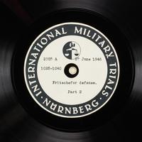 Day 165 International Military Tribunal, Nuremberg (Set A)  Click to enlarge