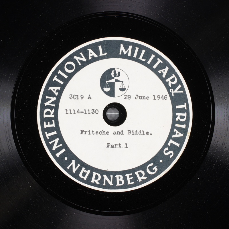 Day 167 International Military Tribunal, Nuremberg (Set A)