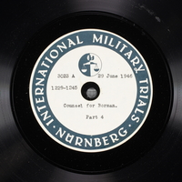 Day 167 International Military Tribunal, Nuremberg (Set A)  Click to enlarge