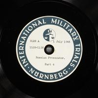 Day 168 International Military Tribunal, Nuremberg (Set A)  Click to enlarge