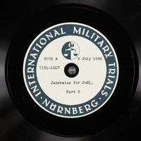 Day 171 International Military Tribunal, Nuremberg (Set A)  Click to enlarge