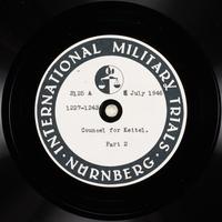 Day 173 International Military Tribunal, Nuremberg (Set A)  Click to enlarge