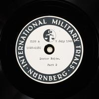 Day 174 International Military Tribunal, Nuremberg (Set A)  Click to enlarge