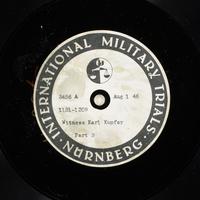 Day 192 International Military Tribunal, Nuremberg (Set A)  Click to enlarge
