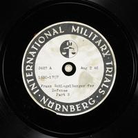 Day 193 International Military Tribunal, Nuremberg (Set A)  Click to enlarge
