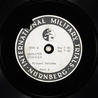 Day 197 International Military Tribunal, Nuremberg (Set A)  Click to enlarge