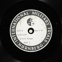 Day 198 International Military Tribunal, Nuremberg (Set A)  Click to enlarge
