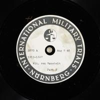 Day 199 International Military Tribunal, Nuremberg (Set A)  Click to enlarge