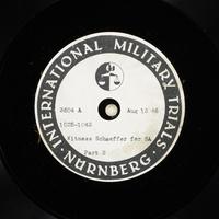 Day 202 International Military Tribunal, Nuremberg (Set A)  Click to enlarge