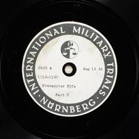 Day 203 International Military Tribunal, Nuremberg (Set A)  Click to enlarge