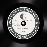Day 208 International Military Tribunal, Nuremberg (Set A)  Click to enlarge