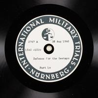 Day 211 International Military Tribunal, Nuremberg (Set A)  Click to enlarge